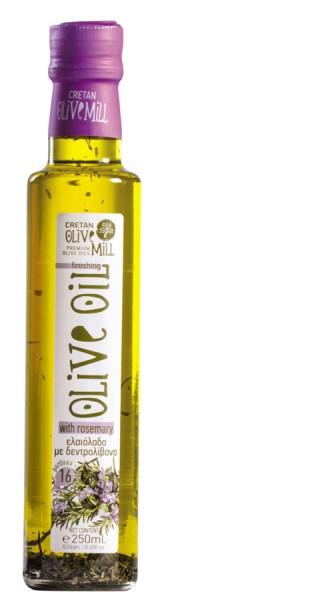 Aromatisches Olivenöl mit Rosmarin 250ml