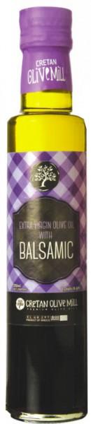 Olivenöl mit Spezialaromen - Natives Olivenöl mit Balsamico-Essig, 250 ml