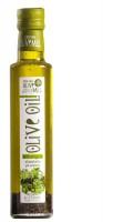 Regenbogen 5 x Extra Natives Olivenöl 250 ml Glasflasche mit Kräutern