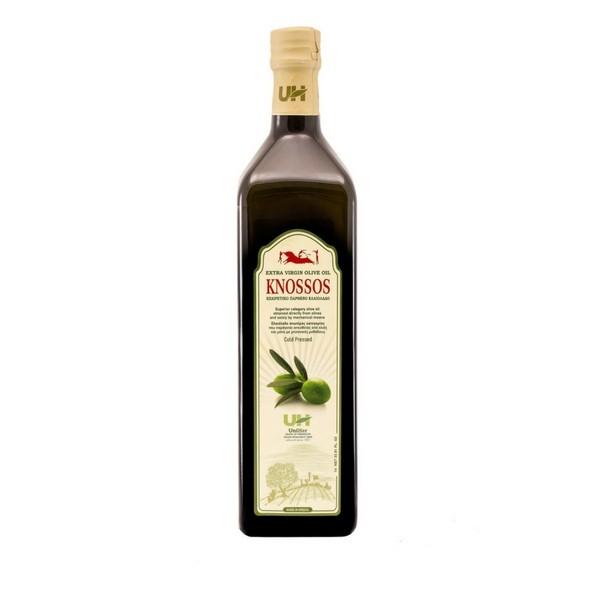 Knossos Extra Natives Olivenöl, 750 ml, in einer Marasca-Glasflasche