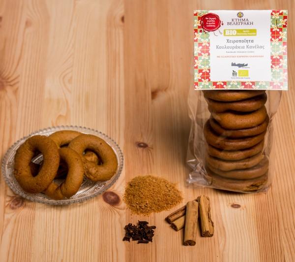 Handgemachte Bio Kekse mit Zimt, 200 g