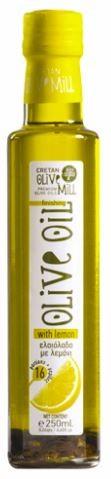 Aromatisches Olivenöl mit Zitrone, 250 ml