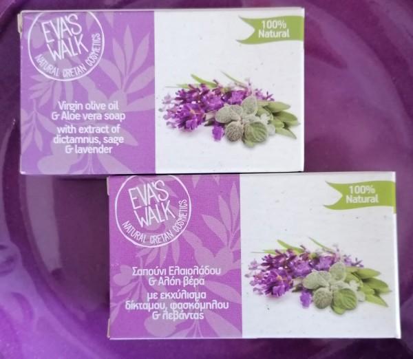 Eva's Walk Bio-Seife mit Dyktamnus & Lavender