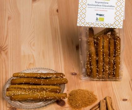 Handgemachte Bio Kekse mit Olivenöl