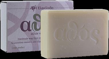 Athos Handgemachte Seife mit Olivenöl