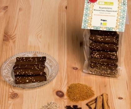Handgemachte Bio Kekse mit Johannisbrot, 200 g