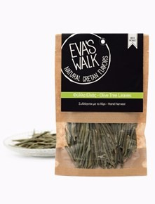 Eva's Walk, loser Tee - Olivenblätter, 15 g Packung