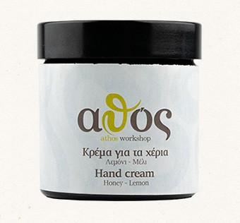 Athos Handpflegecreme mit Honig & Zitrone