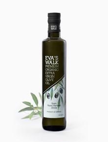 Eva's Walk Bio Organic Extra Natives Olivenöl, 500 ml, in einer Dorica-Flasche