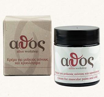 Athos Creme gegen Muskelschmerzen & Erkältung