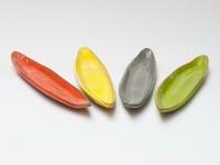 Handgemachte Schüssel Olivenblatt